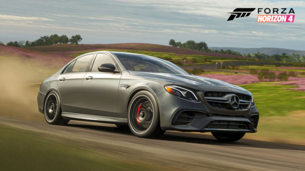 The 2018 Mercedes-AMG E 63 S in Forza Horizon 4