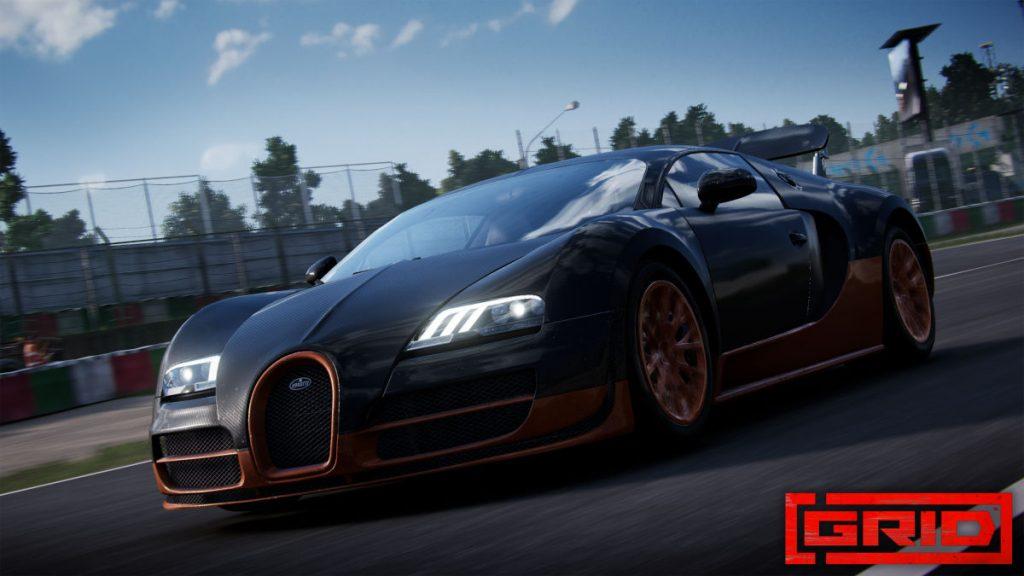 Drive the Bugatti Veyron 16.4 Super Sport in GRID Season 3