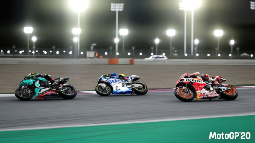 MotoGP 20 arrives before the real season starts thanks to the coronavirus pandemic