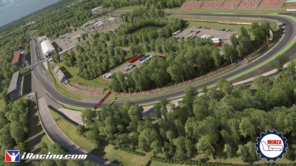 New tracks for iRacing: Auto Club Speedway, Monza and Imola
