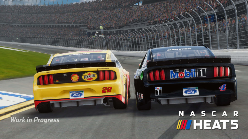 NASCAR always involves close racing, and NASCAR Heat 5 should be no exception