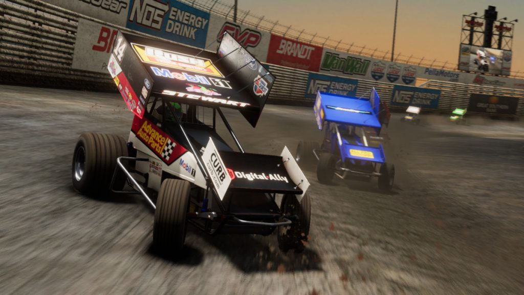 Knoxville follows a free April update for Tony Stewart's Sprint Car Racing