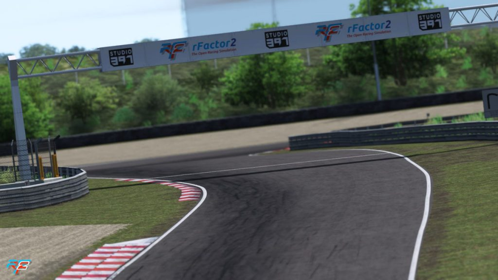 The Mastersbocht on the 2020 Zandvoort Grand Prix circuit in rFactor 2