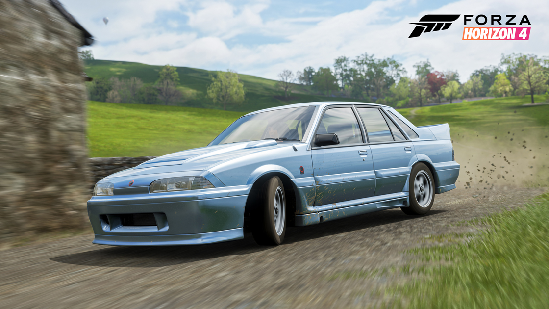 Forza Horizon 4 also adds the 1998 Holden VL Commodore Group A SV in Series 25