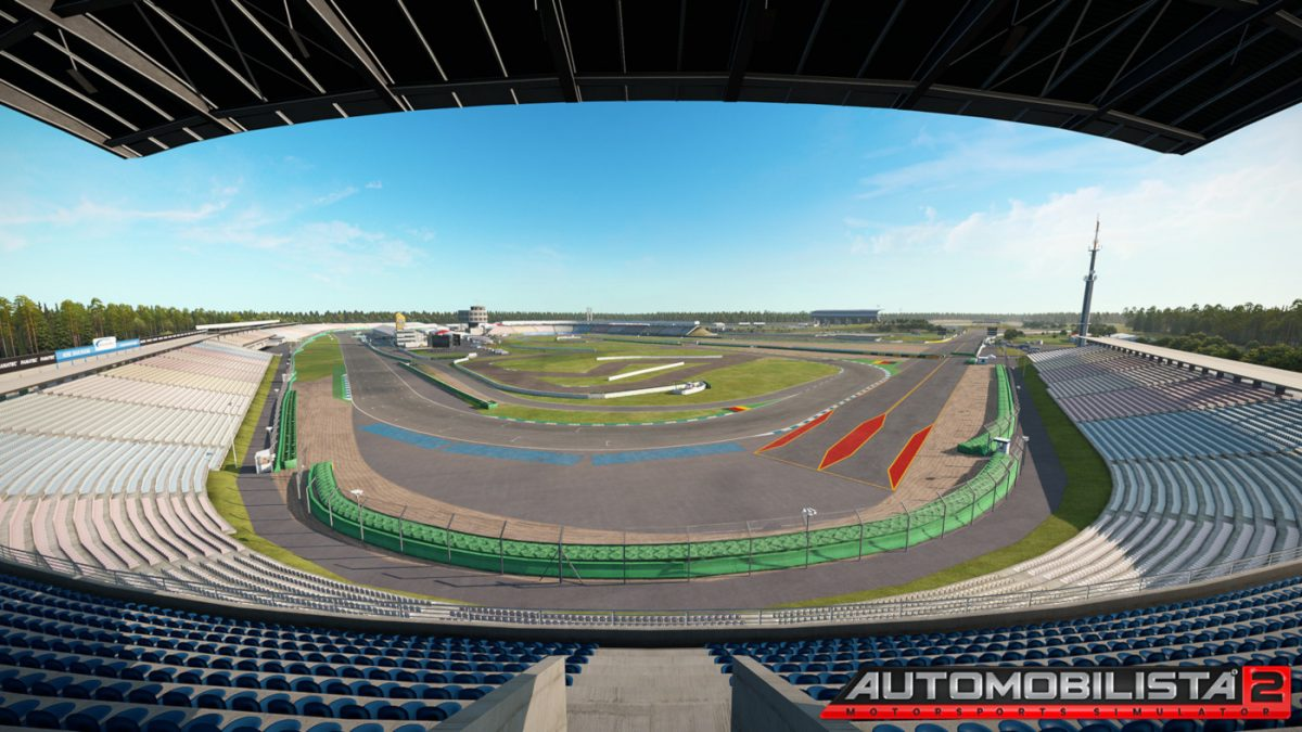 Hockenheimring is the additional track to be released for AMS2 as DLC