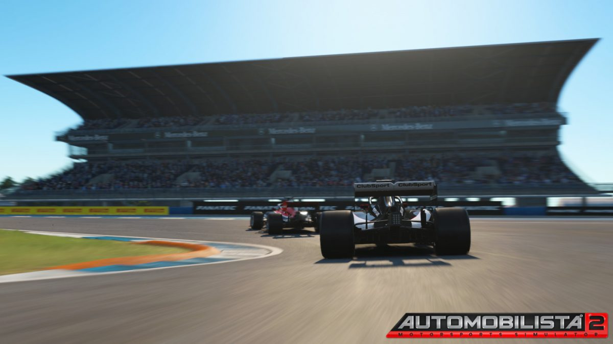 Expect close racing in Automobilista 2 at the Hockenheimring
