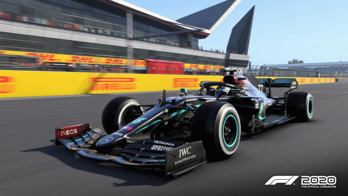 The Mercedes AMG F1 car now has the right livery in F1 2020