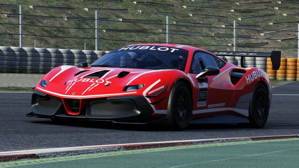 The Ferrari Hublot Esports Series will take place on Assetto Corsa