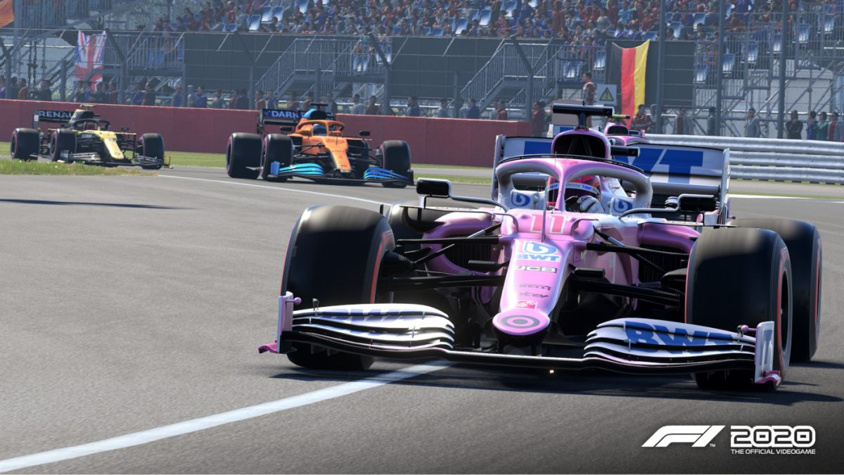 First Console Updates Released for F1 2020