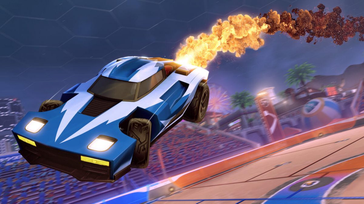 Are you pleased about Rocket League going free to play?