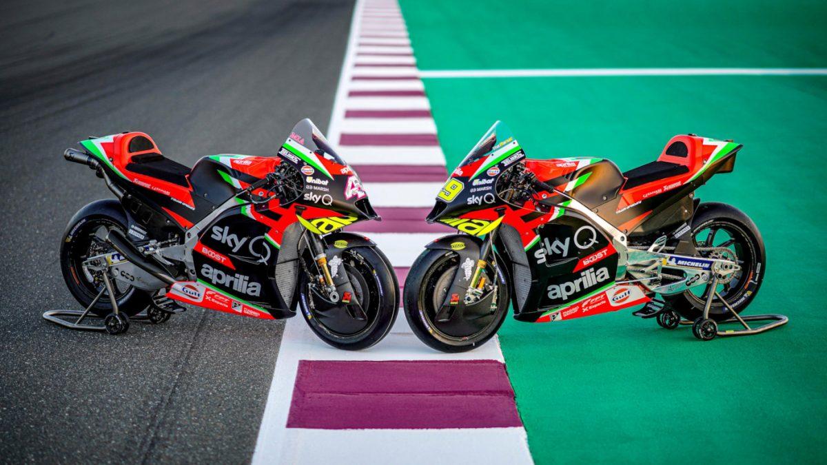 The Aprilia Racing eSports Team Launches for 2020 MotoGP eSport Championship