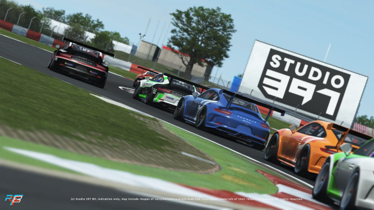 The latest rFactor 2 Nurburgring Update Adds A New Layout