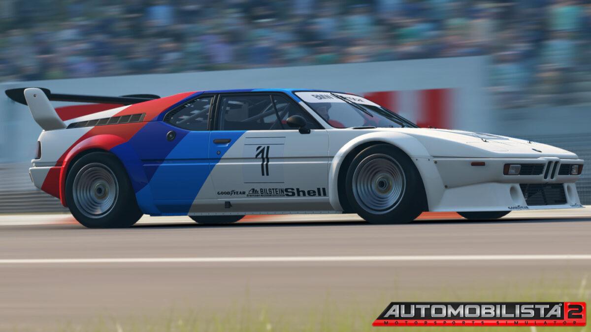 The BMW M1 Procar in Automobilista 2