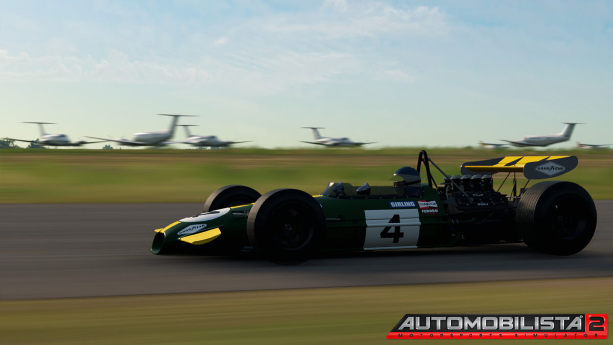 Classic F1 cars and historic track layouts are two reasons to try Automobilista 2