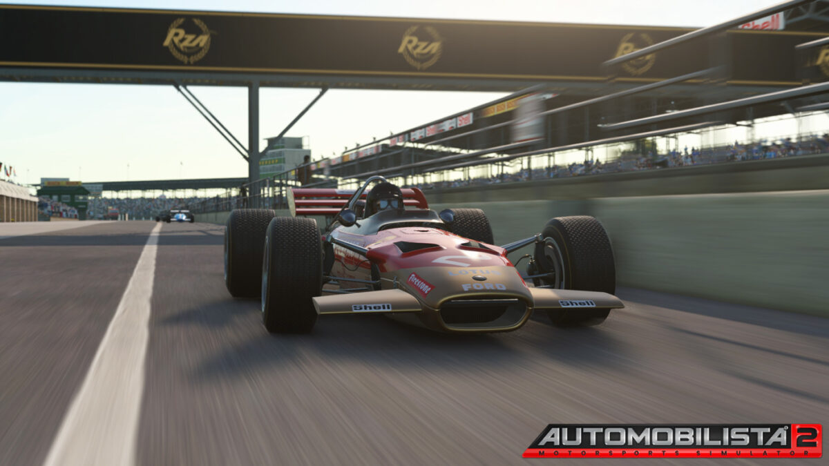The Lotus 49C is now available in Automobilista 2