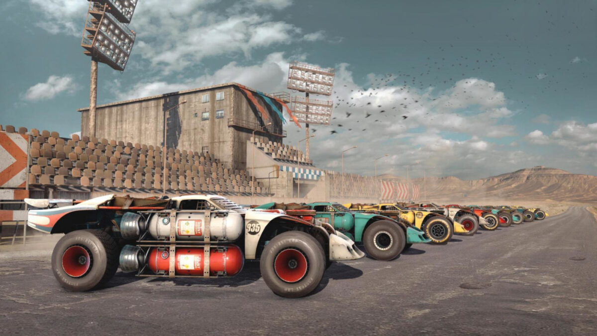 Now you can race, as well as blow up your opponents, in Crossout