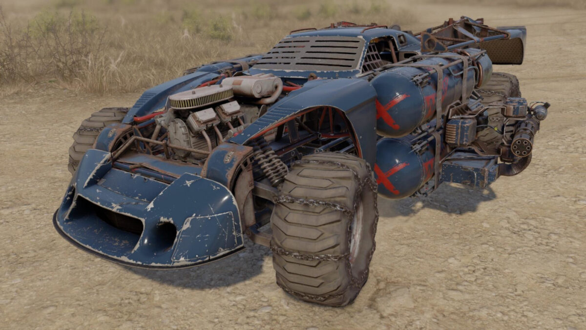 The Moby 935 is available in the new Crossout Adrenaline DLC packs