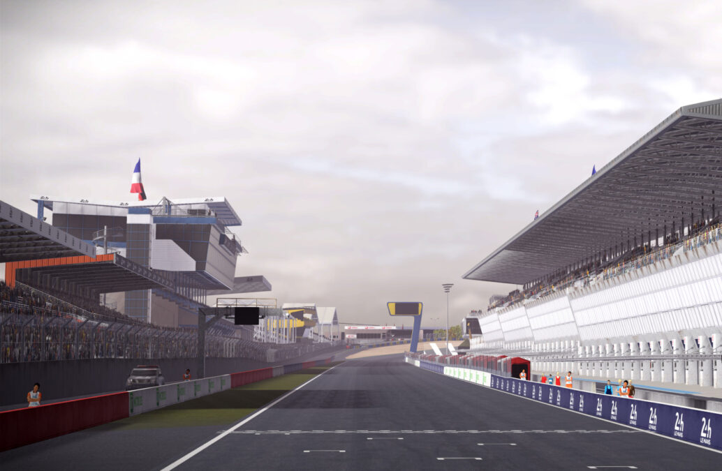 Le Mans is one of five new circuits in Gear.Club Unlimited 2 - Tracks Edition