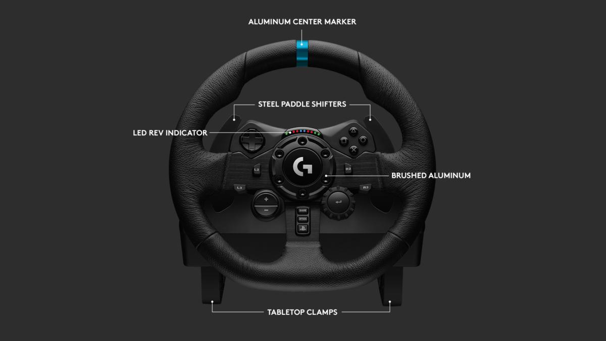 Features of the Logitech G923 Trueforce Wheel