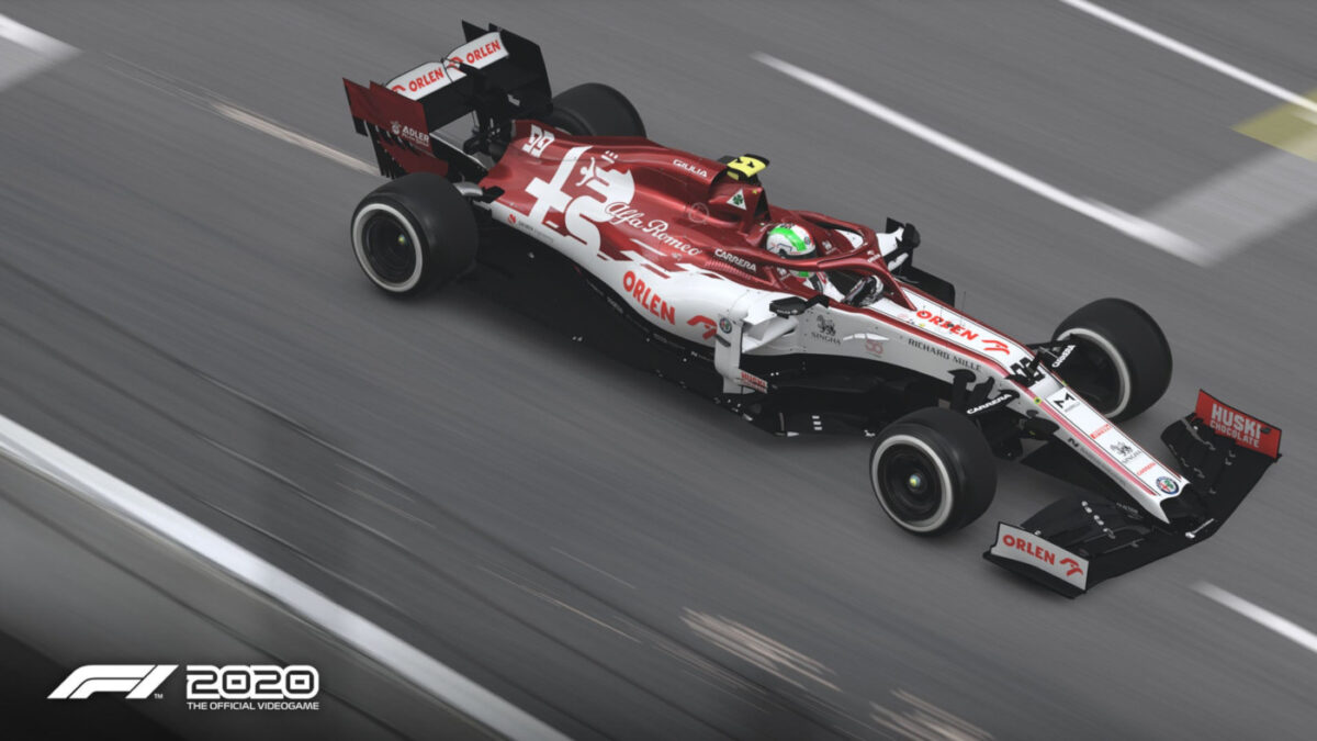 The next F1 2020 Patch brings new livery updates for Alfa Romeo