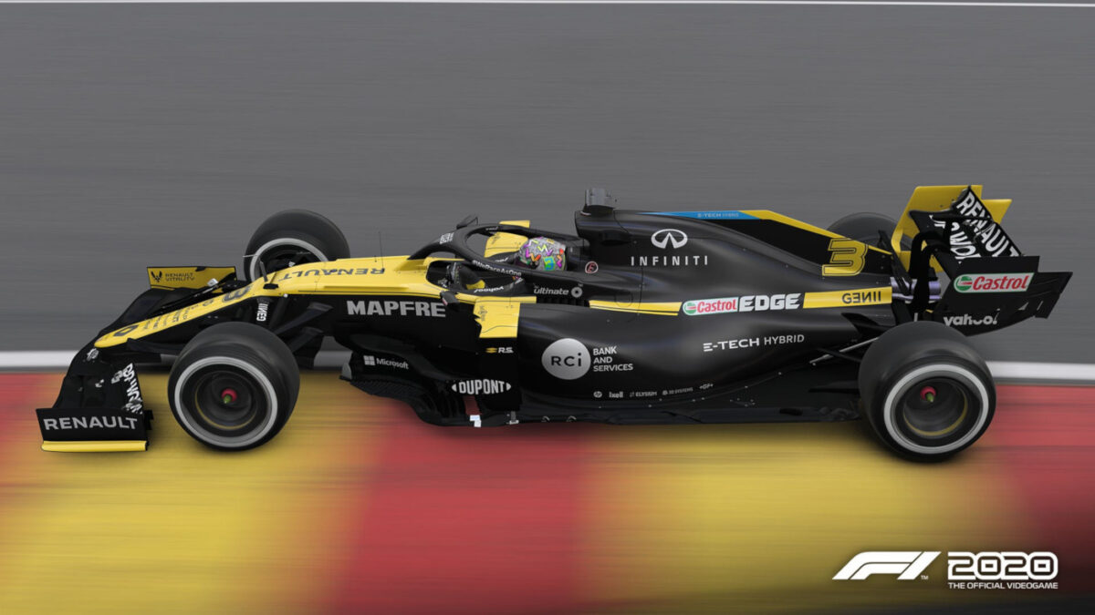 The next F1 2020 Patch brings new livery updates for Renault