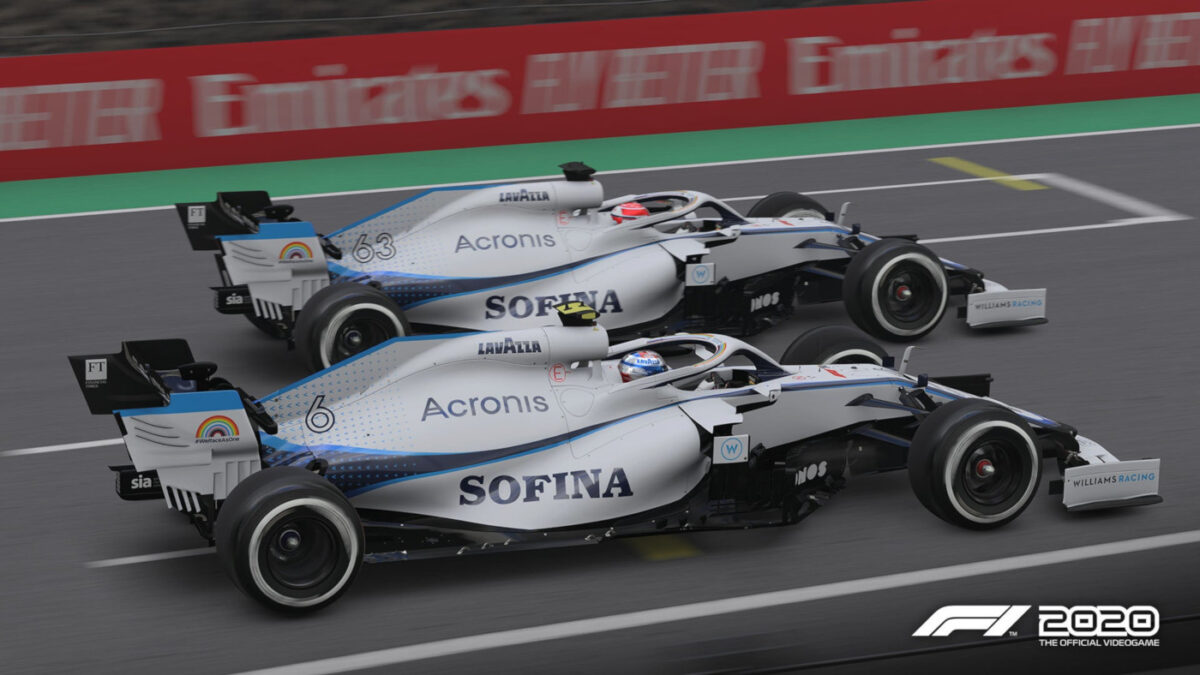 Williams will also get the current look in the next F1 2020 update