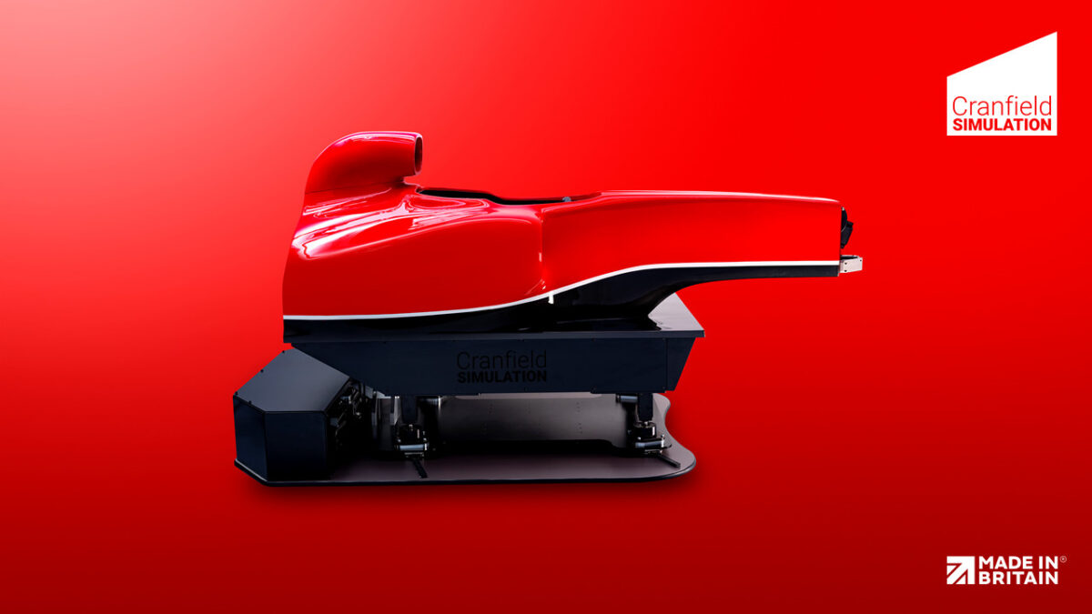 The Formula Simulator is built around a chassis from a real F1 car mould