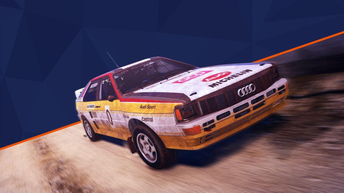 The 1984 Audi Quattro A2 is the pre-order bonus for WRC 9
