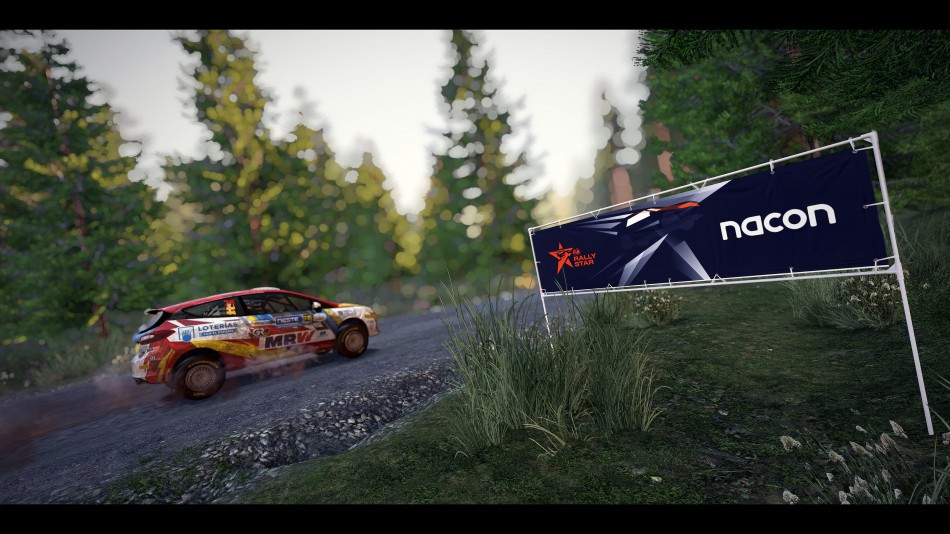 You could go from WRC 9 to the FIA Junior Rally WRC Championship