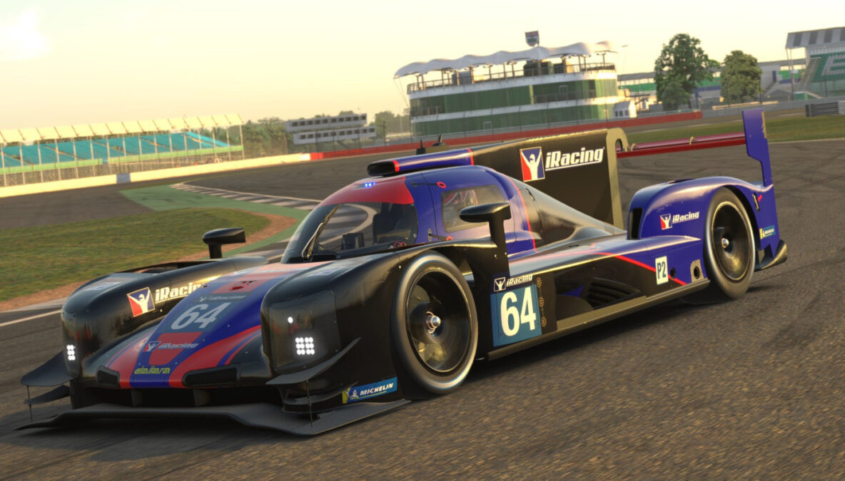 Check out the iRacing Dallara P217 LMP2 in-game preview pictures