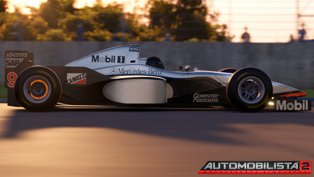 Automobilista 2 Update V1.0.2.5 Brings The 1997 McLaren MP4/12