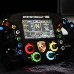 Cool Home-Made Porsche 911 GTE Sim Racing Wheel