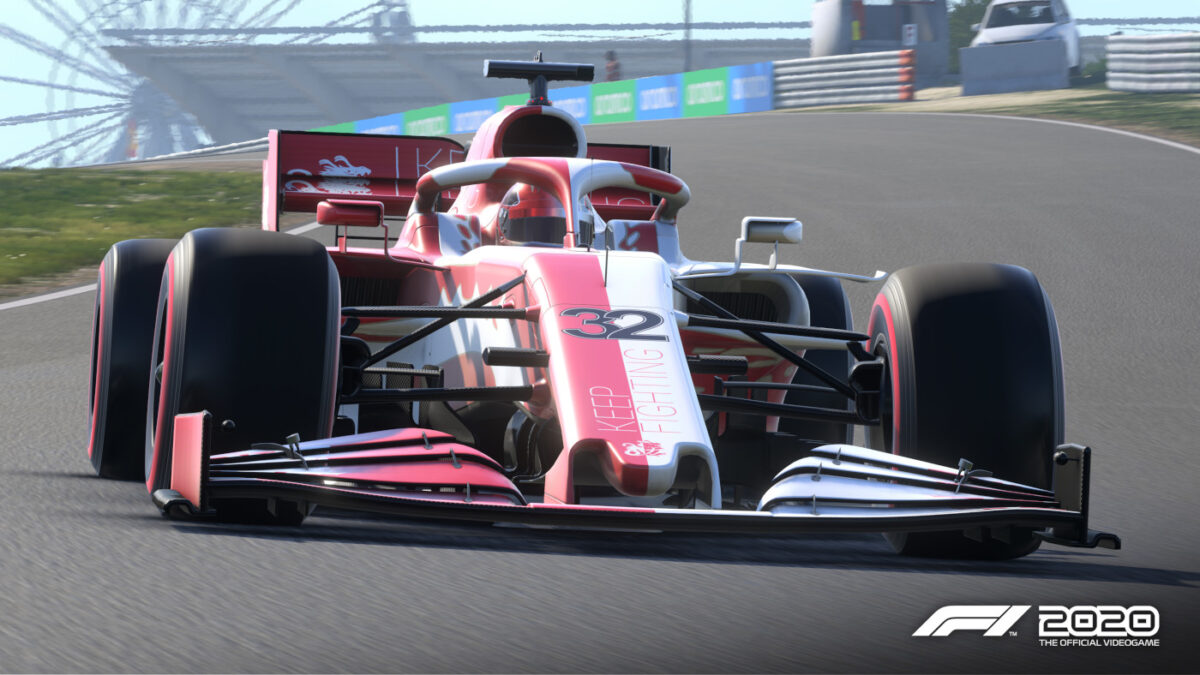 F1 2020 Adds Keep Fighting Foundation In-Game Charity DLC