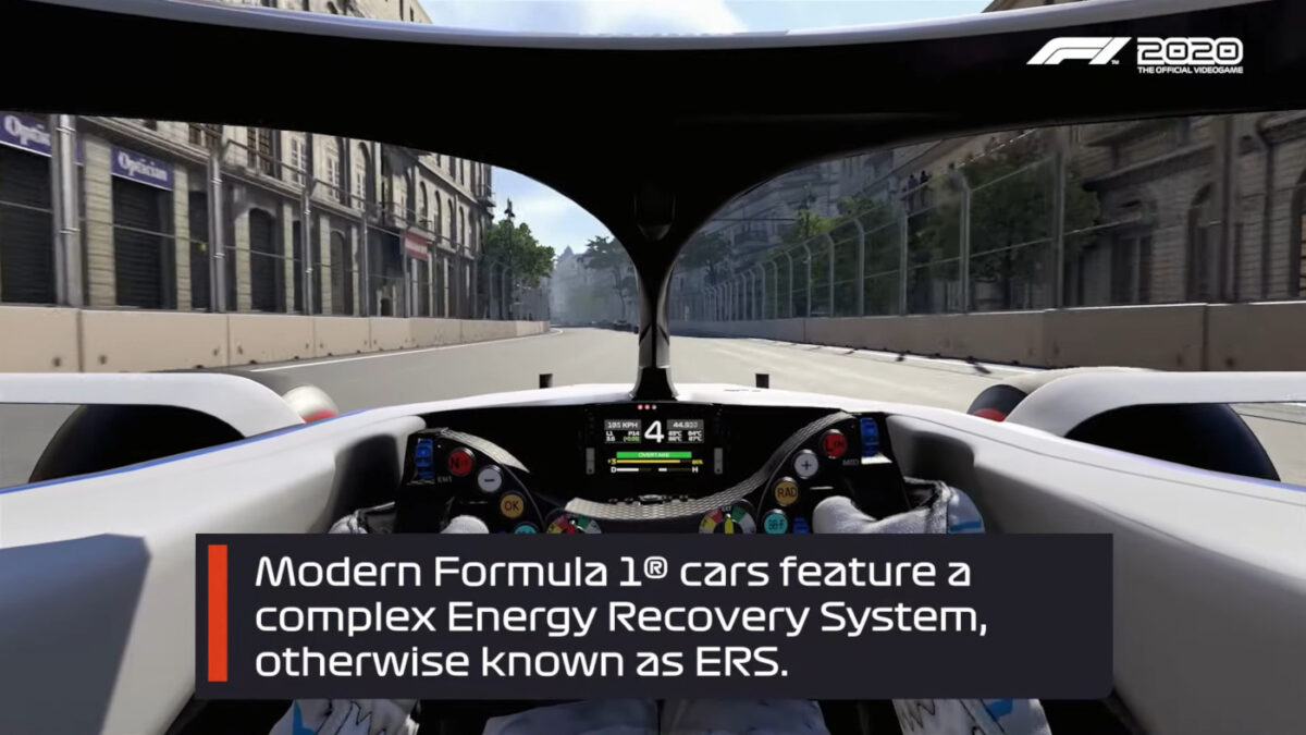 Find out how to use ERS in F1 2020 with a handy video video