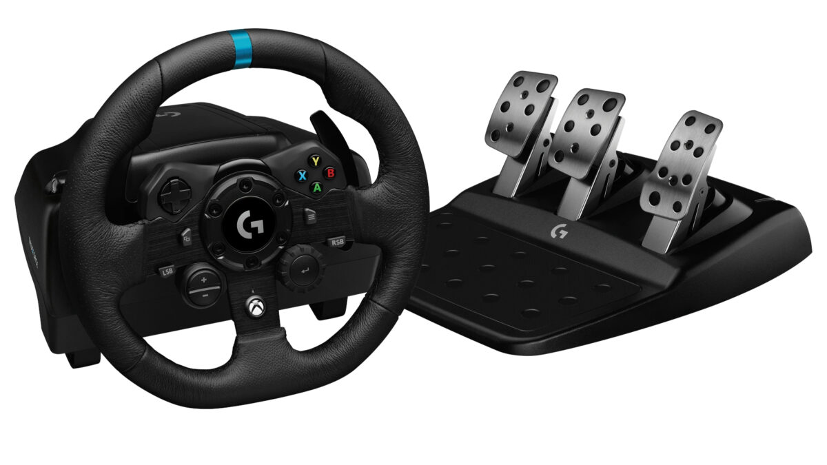 The Logitech G923 Trueforce Wheel And Pedals Revealed