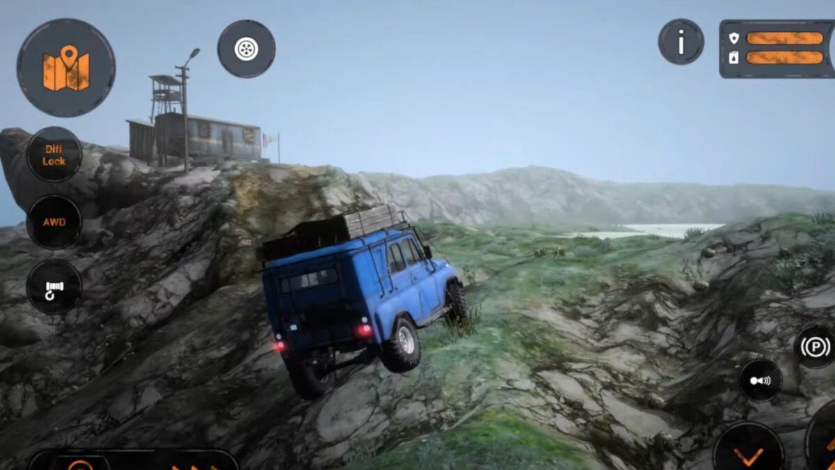 MudRunner Mobile Gets The Ridge DLC