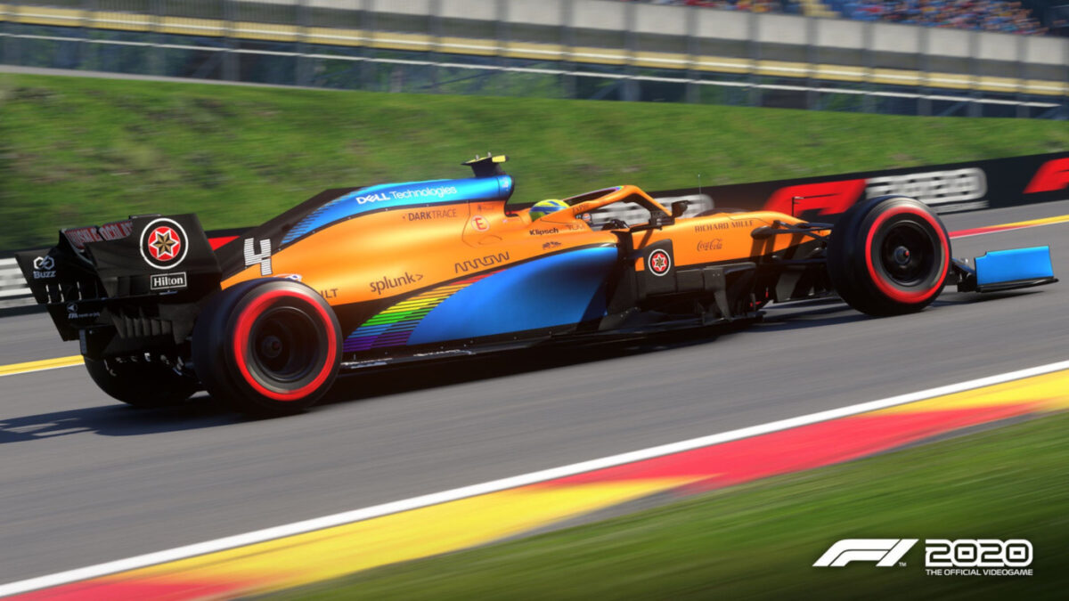 The new F1 2020 livery update includes McLaren