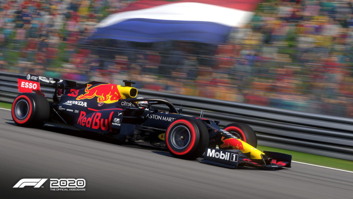 Red Bull get a paint update in the next F1 2020 patch