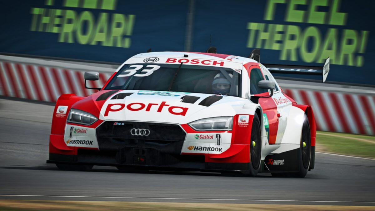 RaceRoom Previews The DTM 2020 DLC Cars - The Audi RS5 Turbo