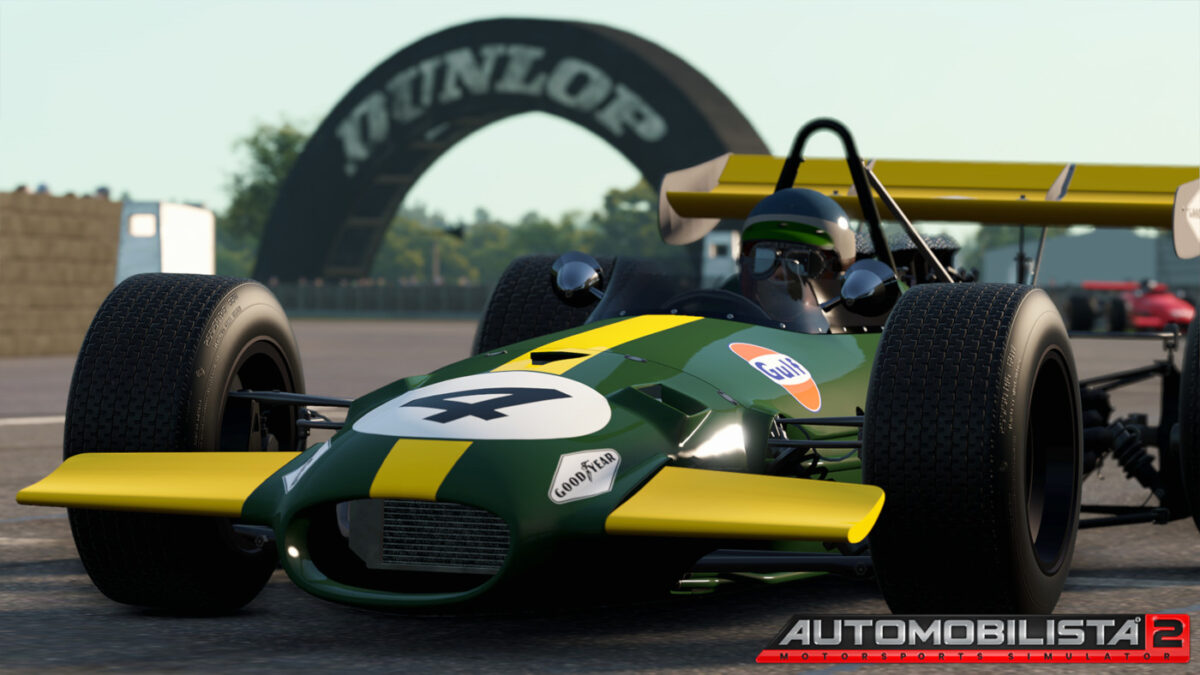 The Automobilista 2 Car List includes classic F1 cars from various eras