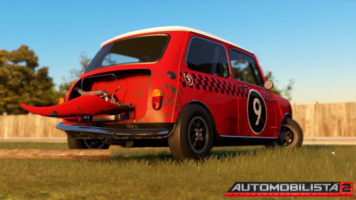 The 1965 Mini Cooper in Automobilista 2