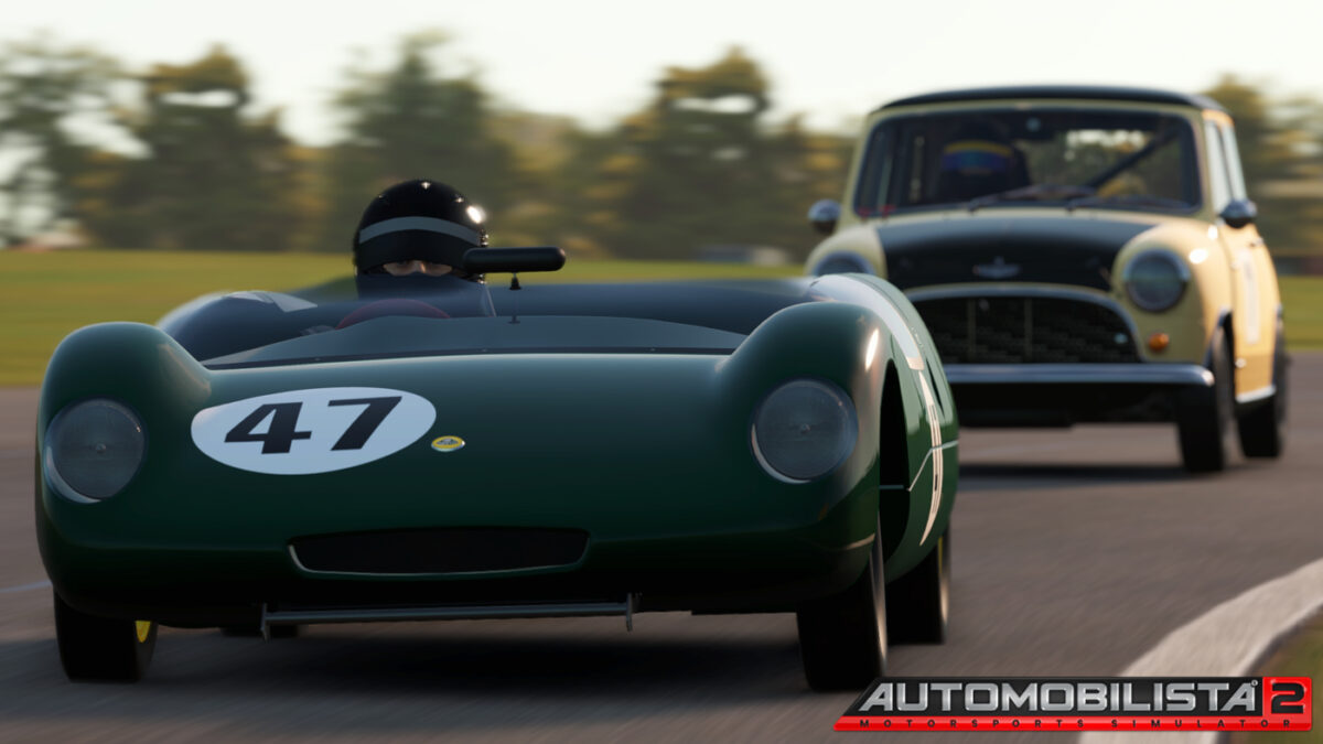 The Lotus 23 in Automobilista 2