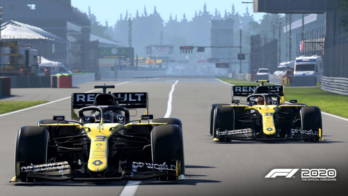 F1 2020 Patch 1.09 includes livery updates for Renault