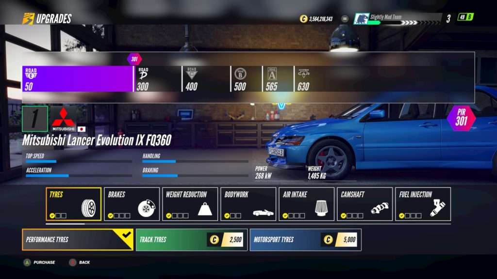 Find out how to upgrade your car in Project CARS 3
