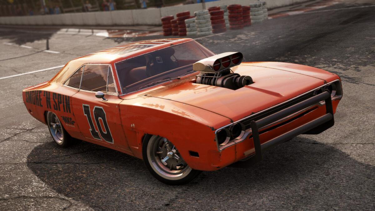 The Wreckfest Season 2 Getaway Car Pack DLC includes the Bullet