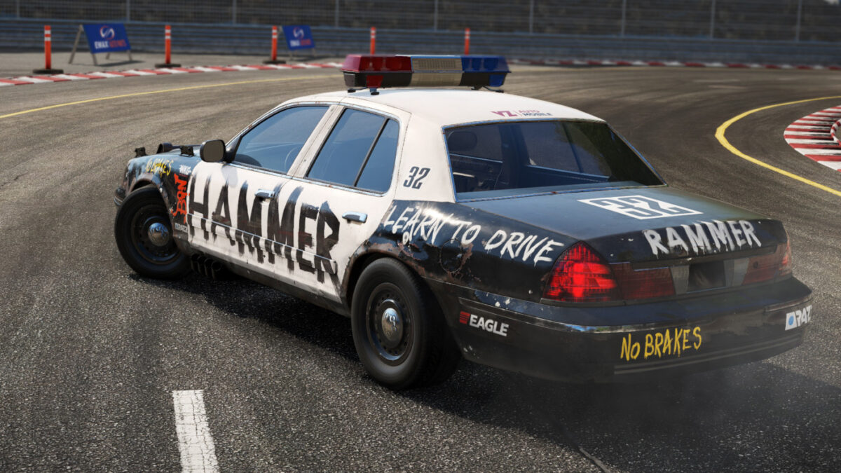 Perfect for chasing down your rivals in Wreckfest