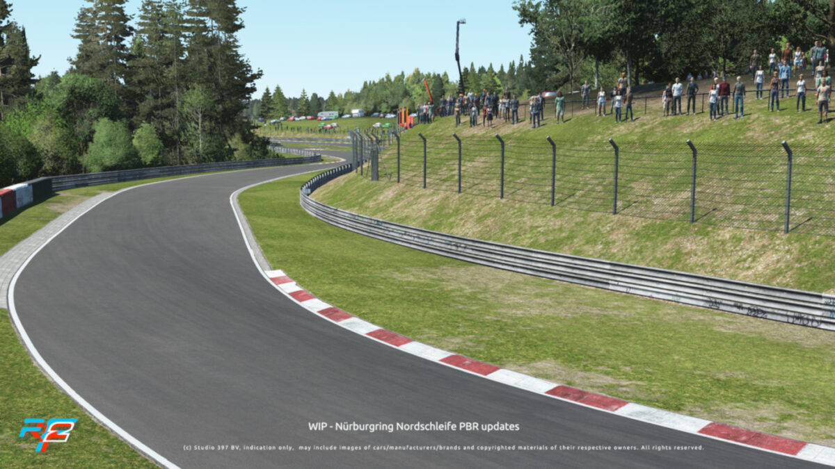rFactor2 August 2020 Roadmap Update includes an update for the Nurburgring Nordschleife