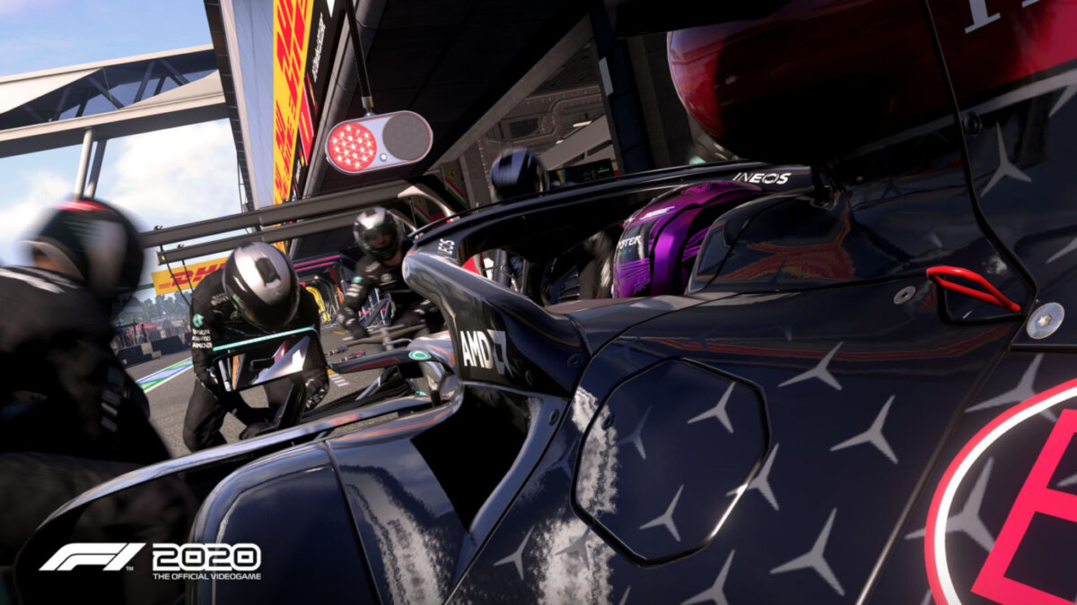 The helmet designs in F1 2020 are being updated for Hamilton and Bottas