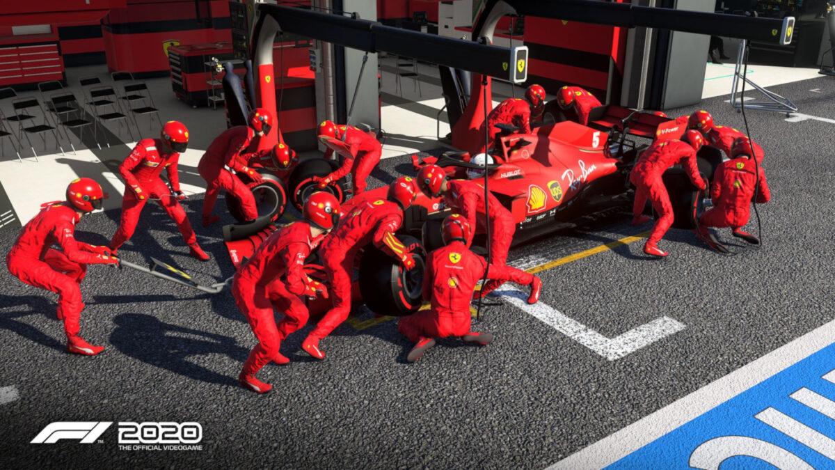The new F1 2020 Performance Update isn't good news for anyone running Ferrari Power units...