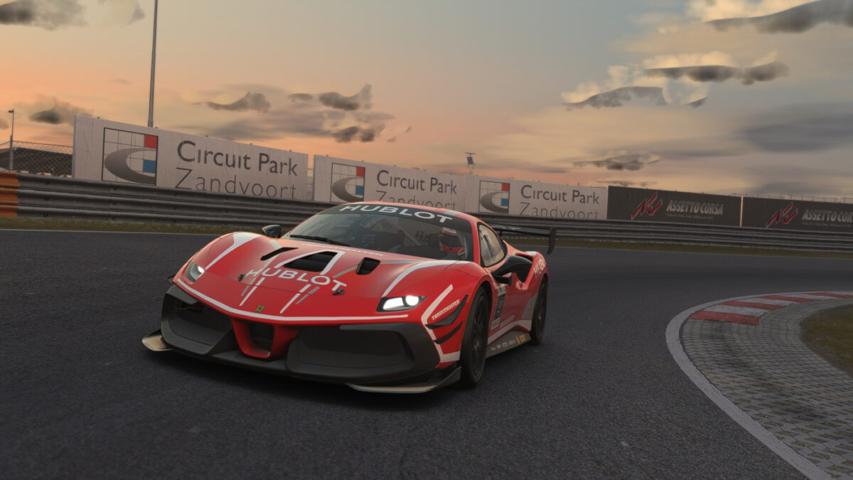 The Ferrari Hublot Esports Series Race 2 At Zandvoort had plenty of action and drama